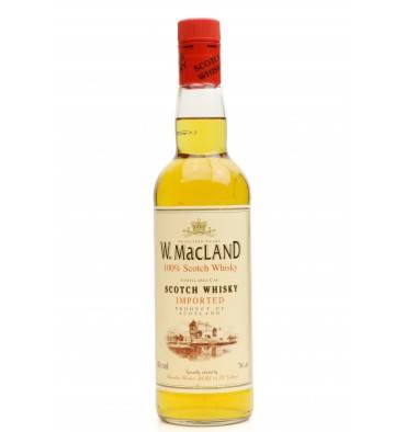 W. MacLand Scotch Whisky - Blairmhors Blenders