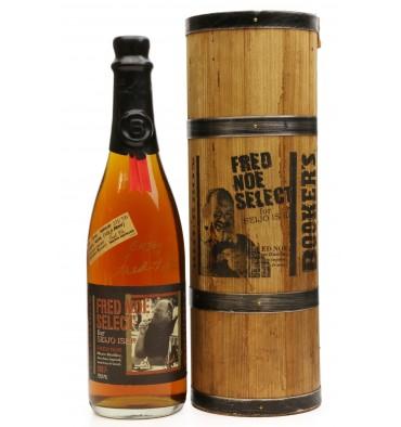 Booker's Fred Noe Select for Seijo Ishii **Signed Bottle**
