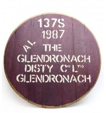 Glendronach Decorative Cask End