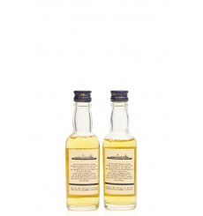 QE2 Blended Scotch Whisky Miniatures x2