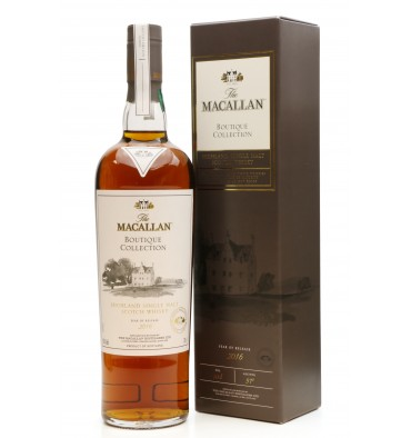 Macallan Boutique Collection - 2016 Taiwan Duty Free Exclusive