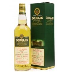 Littlemill 21 Years Old 1991 - Douglas of Drumlanrig