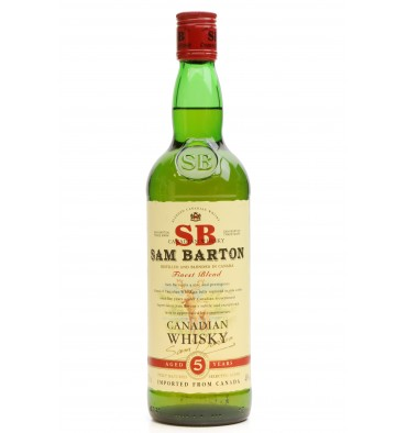 Sam Barton 5 Years Old - Canadian Whisky