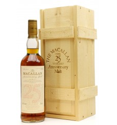 Macallan Over 25 Years Old 1975 - Anniversary Malt