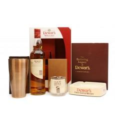 Dewar's White Label, Books, Cocktail Shaker, Glass & Ashtray