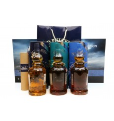 Old Pulteney Lighthouse Collection (3x1Litre), Glass Pipette & Martime Picture