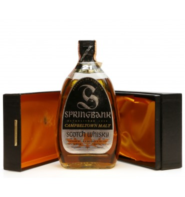 Springbank 21 Years Old (75cl)