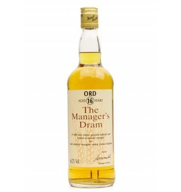 Ord 16 Years Old - Manager's Dram 1991