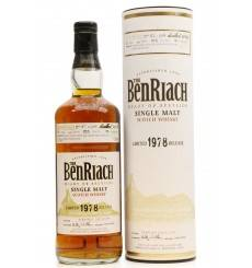 Benriach 26 Years Old 1978 - Limited Release