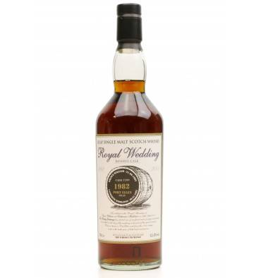 Port Ellen 1982 Reserve Cask - TWE Royal Wedding 2011