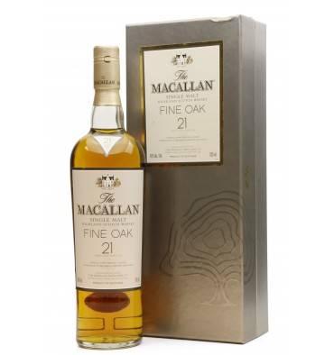 Macallan 21 Years Old - Fine Oak