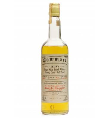 Bowmore 1969 - 20th Anniversary of Edoardo Giaccone's whiskyteca at Salo
