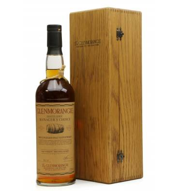 Glenmorangie 1987 - 2001 Manager's Choice - Bourbon Cask