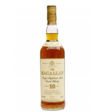 Macallan 10 Years Old - Knockando Church