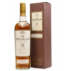 Macallan 12 Years Old - Sherry Oak First Bottling (Signed)
