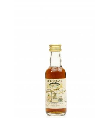 Springbank 24 Years Old 1966 Local Barley - Sherry Casks Miniature