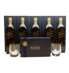 Johnnie Walker Blue Label - Chinese Mythology Collection (5x1Litre) + Tumblers