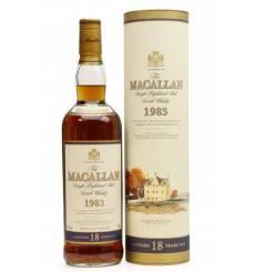 Macallan 18 Years Old 1983