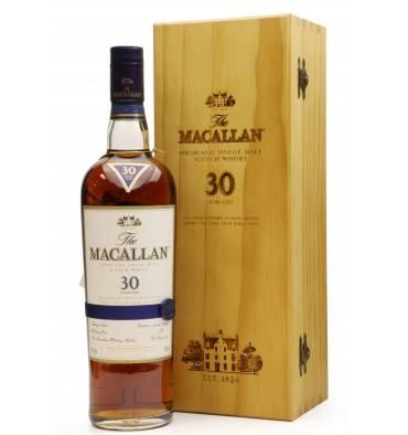 Macallan 30 Years Old - Sherry Oak