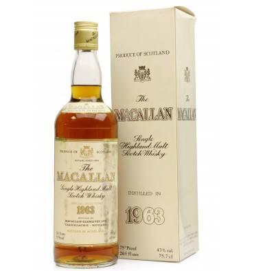 Macallan 1963 - Special Selection
