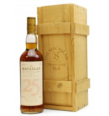 Macallan Over 25 Years Old - Anniversary Malt (75cl)