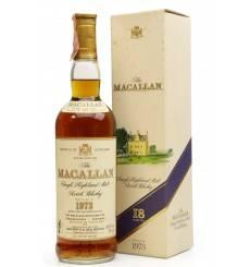 Macallan 18 Years Old 1973