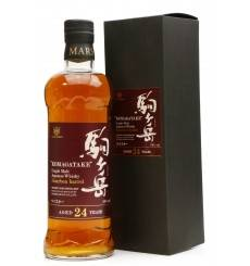 Mars Shinshu 24 Years Old - Komagatake Bourbon Barrel