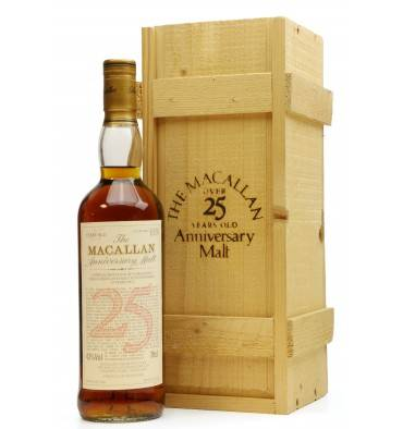 Macallan Over 25 Years Old 1968 - Anniversary Malt