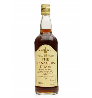 Caol Ila 15 Years Old - Manager's Dram 1990