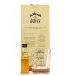 Jack Daniel's Tennessee Honey Miniature & Glass