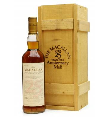 Macallan Over 25 Years Old 1972 - Anniversary Malt