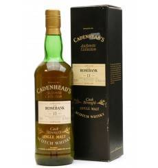 Rosebank 13 Years Old 1980 - Cadenhead's Authentic Collection