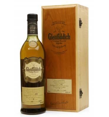 Glenfiddich 31 Years Old 1972 - Vintage Reserve