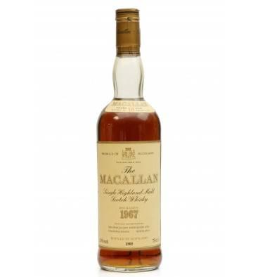 Macallan 18 Years Old 1967