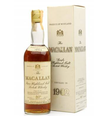 Macallan 1962 - 80° Proof - Campbell Hope & King