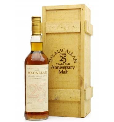 Macallan Over 25 Years Old 1966 - Anniversary Malt