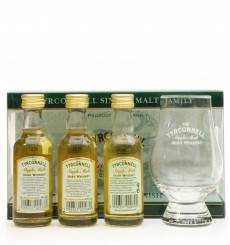 Tyrconnell Single Malt Irish Whiskey Gift Set (3x5cl & Glass)