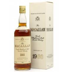Macallan 18 Years Old 1966