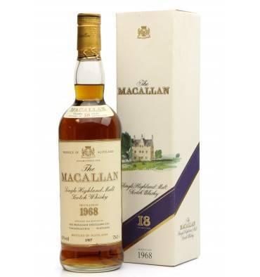 Macallan 18 Years Old 1968