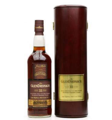 Glendronach 33 Years Old - Oloroso Sherry Cask