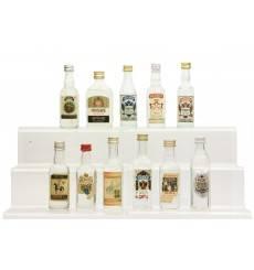 Assorted Vodka Miniatures x11