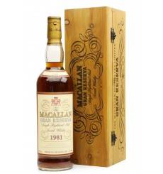 Macallan 18 Years Old  1981 - Gran Reserva