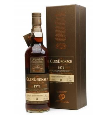 Glendronach 40 Years Old 1971 - Single Cask No.1436