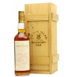 Macallan Over 25 Years Old 1968 - Anniversary Malt