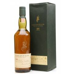 Lagavulin 25 Years Old - Natural Cask Strength 2002