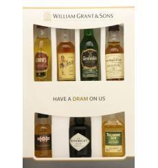 William Grant & Sons Miniature Core Brand Selection (7x 5cl)