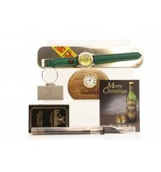 Whisky Memorabilia inc Watch, Clock, Pens and more