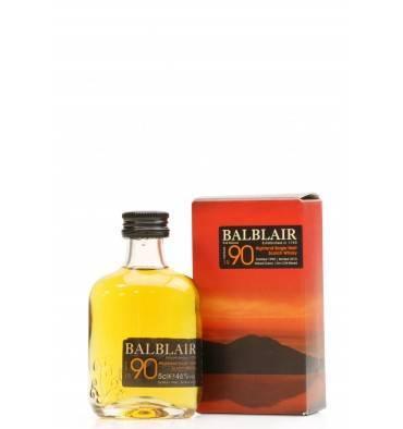 Balblair Vintage 1990 - 2015 2nd Release (Miniature)