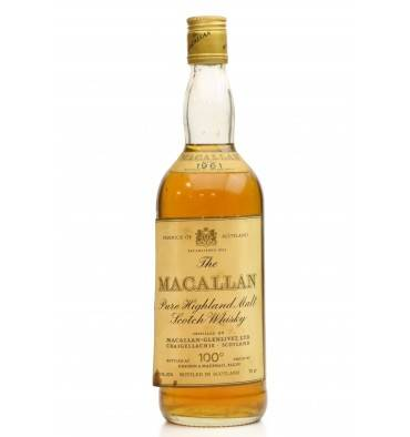 Macallan 1961 - 100° Proof