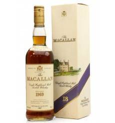 Macallan 18 Years Old 1969
